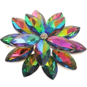 Multi-Color Crystal Magnetic Brooch - QB's Magnetic Creations