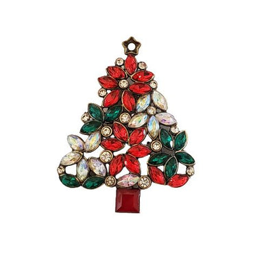 Christmas Tree Magnetic Brooch - QB's Magnetic Jewelry Creations