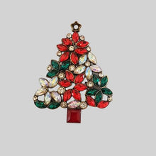 Christmas Tree Magnetic Brooch - QB's Magnetic Creations