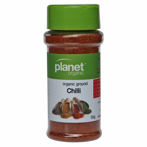 PLANET ORGANIC Spices Chilli Ground 55g