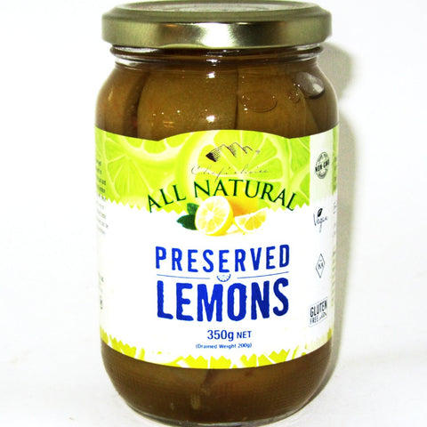 CHEF'S CHOICE Organic Preserved Lemons 350g