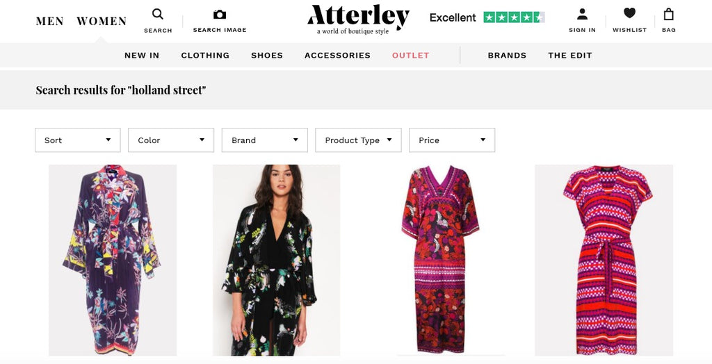 Shop 10 Holland Street Kaftans dresses and robes on Atterley