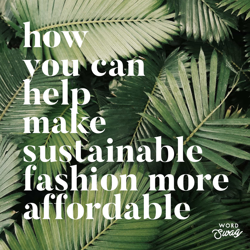 How you can help make sustainable fashion 10 Holland street Harper's bazaar