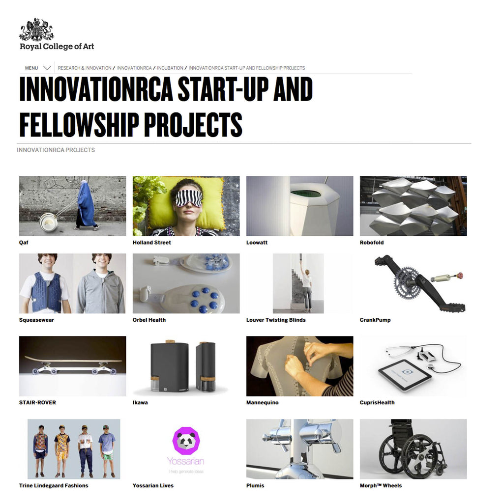InnovationRCA Start-Up and Fellowship Projects