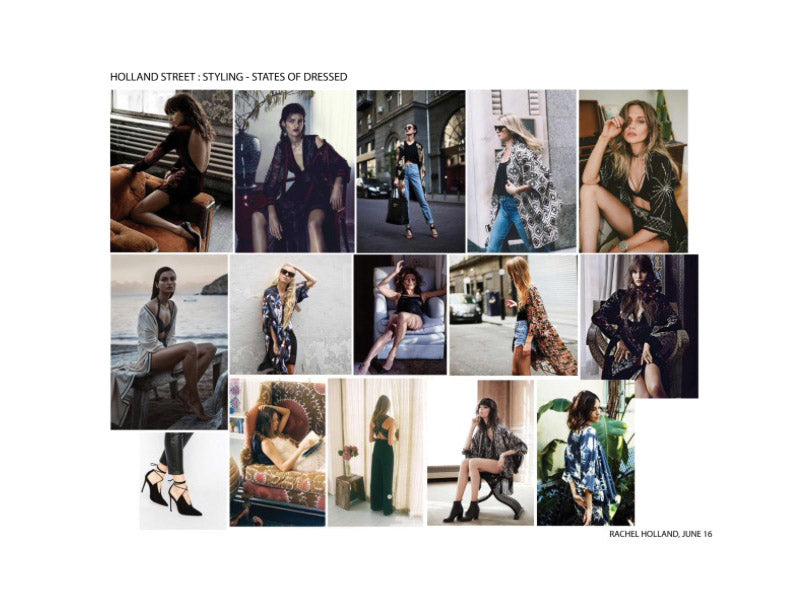 The Photoshoot Moodboards by Celebrity Stylist Rachel Holland