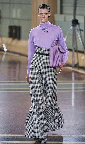 10 Holland street gingham inspiration research fashion LONDON fashion week
