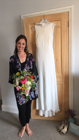 Holland Street Bridal Kimono. Customer review