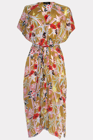 Holland Street London Silk Beachwear Dress Sequoia