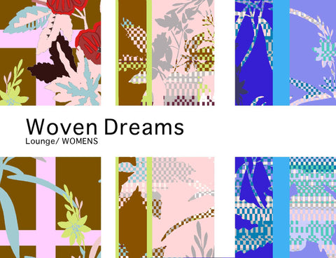 Holland Street woven dreams collection of designer silk loungewear caftans and kimonos