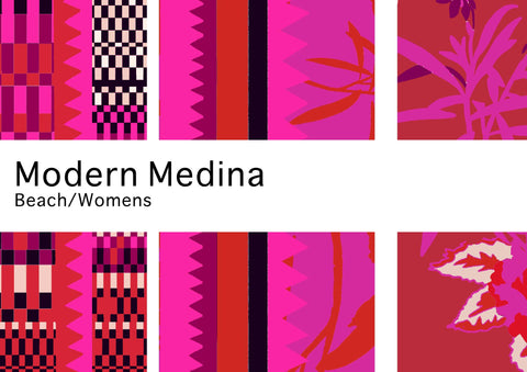 Holland Street modern medina collection of designer silk beachwear caftans and kimonos