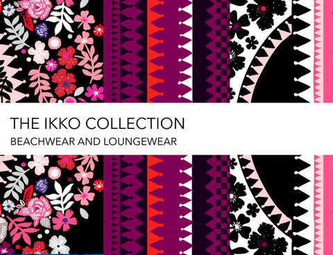 Ikko collection by Holland Street London designer silk loungewear and  beachwear, kimonos and kaftans