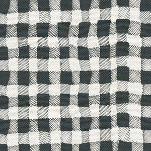 10 Holland Street gingham linen interior fabric