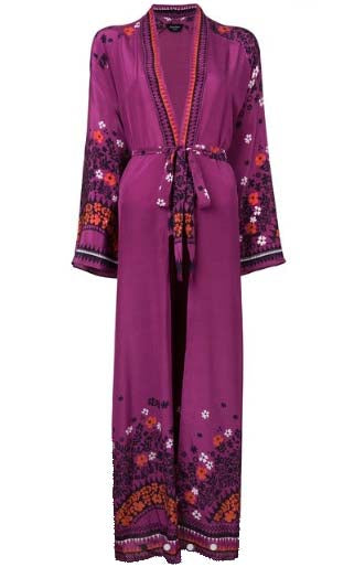 Azur Long Robe