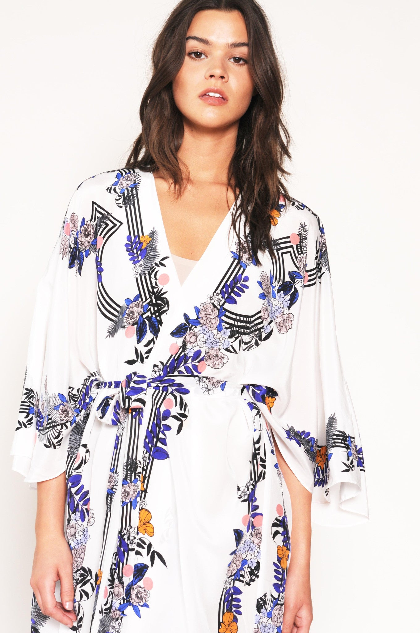 silk robe, Fortuny, holland street loungewear
