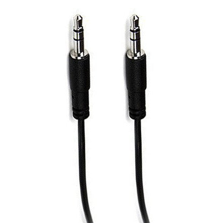 3.5mm Jack Audio Cable 0.3m - Black
