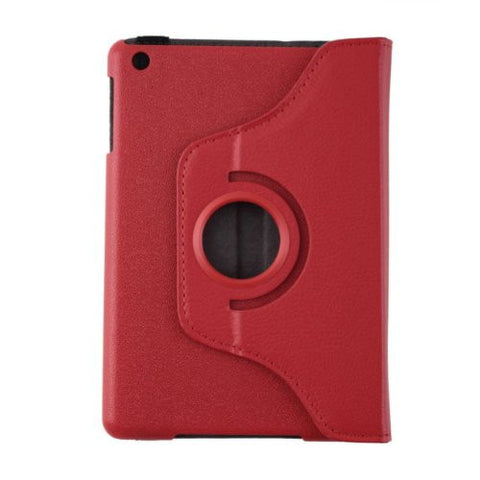 Leather Bluetooth Keyboard Case for iPad 2 - Red