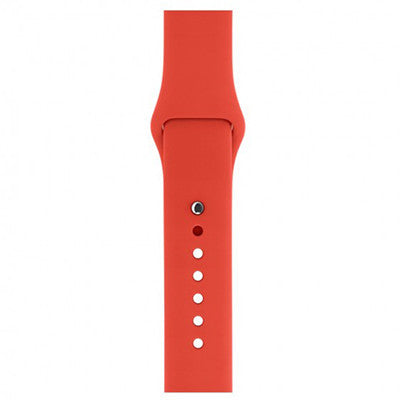 Silicone Wristband for Apple Watch 38mm - Red