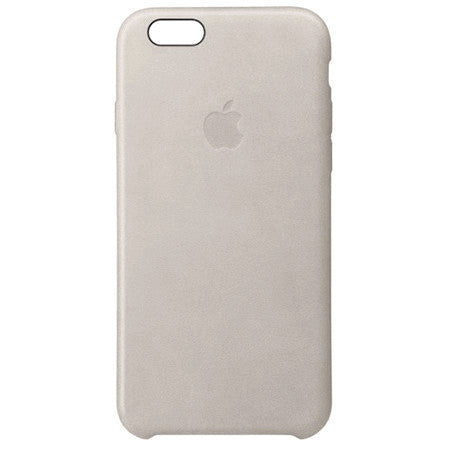 Apple iPhone 6 Plus/6s Plus Leather Case - Stone Gray