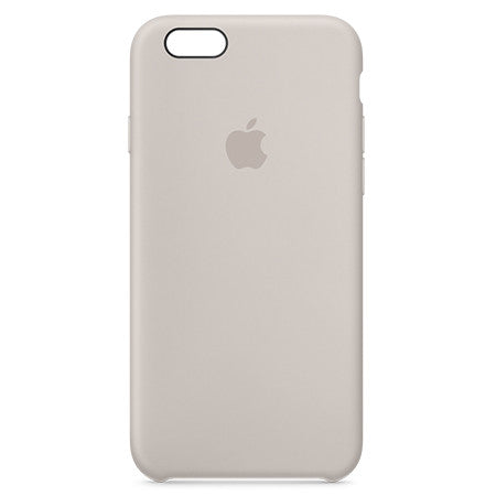Apple iPhone 6s Plus Silicone Case - Stone (Produkt Zyrtar)