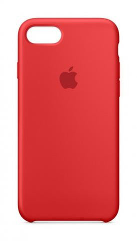 Apple iPhone 8 Silicone Case - Red (Produkt Zyrtar)