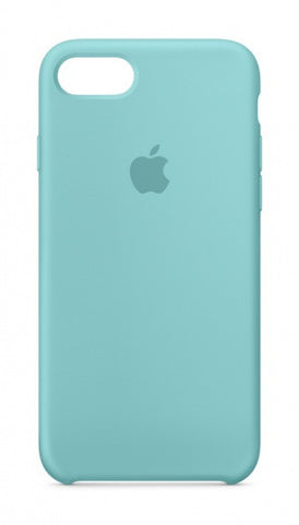 Apple iPhone 7 Silicone Case - Sea Blue (Produkt Zyrtar)