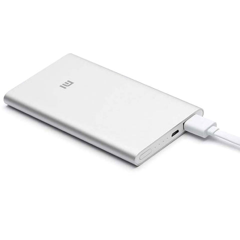 Mi Portable External Power Bank Charger 5000mAh - Silver