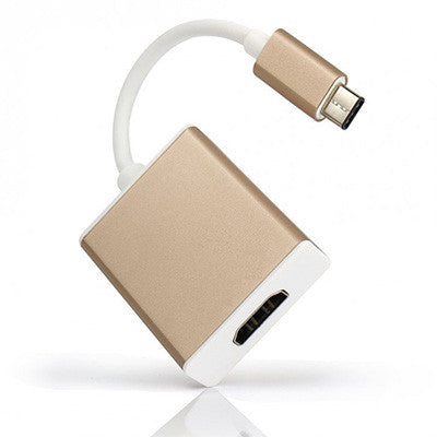 Usb Type - C to Hdmi Adapter - Gold