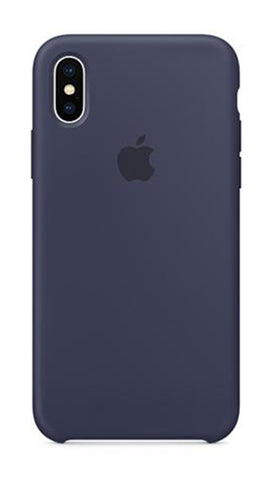 Apple iPhone X Silicone Case - Midnight Blue (Produkt Zyrtar)
