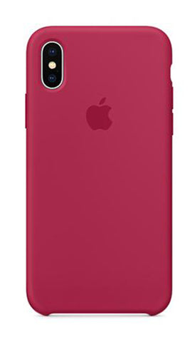 Apple iPhone X Silicone Case -Rose Red (Produkt Zyrtar)