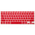 Mbulese Tastjere Red Moshi ClearGuard Keyboard Protector S (Small) Functional Keys American Model for Aluminum MacBook,macbook pro and MacBook Air