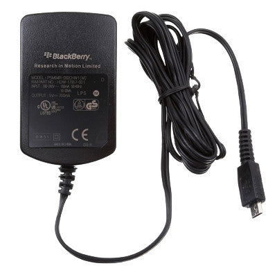 BlackBerry Charger 5V-0.5A - Black