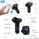 Bluetooth Handsfree Car Kit With FM Transmitter & 3.1A Charger