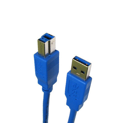 USB 3.0 Printer Cable 1.5m - Blue