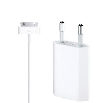 Apple USB power Adapter (EU) With 30 Pin Cable