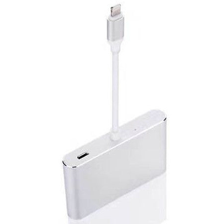 Lightning to Digital AV Multiport HDMI VGA & Audio Adapter for iPhone 7/ 7 Plus