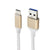 Kabell USB type-C cable-1m - Gold