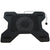 Freskuese Per Laptop Universal Cooling Pad for MacBook - Black