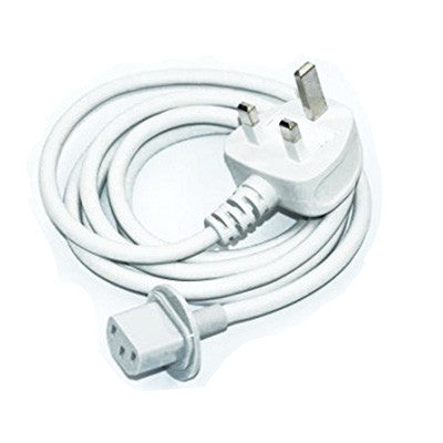 UK wall plug extension power cable cord for iMac