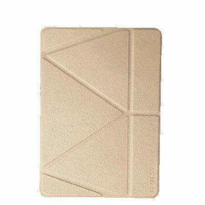 Onjess iPad 9.7 - inch PU Leather+Silicone Case - Gold