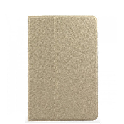 iPad Air 2 PU Leather+Polycarbonate 360 Degree Rotating Stand Case - Gold