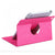 Kover iPad mini 4 PU Leather+Polycarbonate 360 Degree Rotating Stand Case - Pink