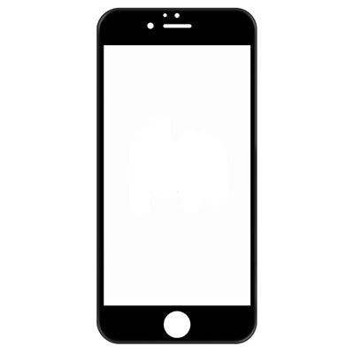 InvisiGlass Screen protector Black Conture 5D for iPhone 8 Plus