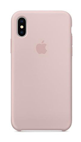 Apple iPhone X Silicone Case - Sand Pink (Produkt Zyrtar)