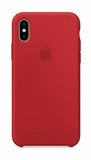 Apple iPhone X Silicone Case - Red Product (Produkt Zyrtar)