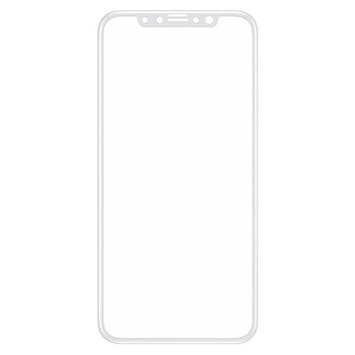 InvisiGlass Screen protector White Conture for iPhone X