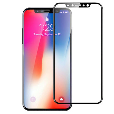 InvisiGlass Screen protector Black Conture for iPhone X
