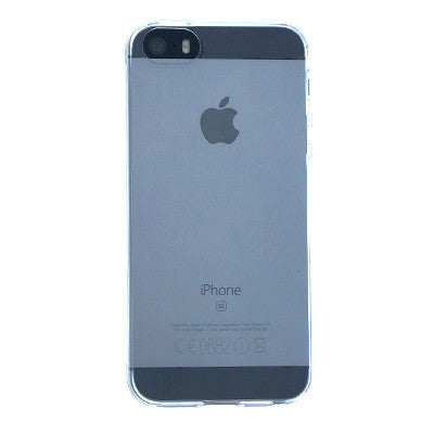 iPhone 5/5s/SE Silicone Case - Transparent