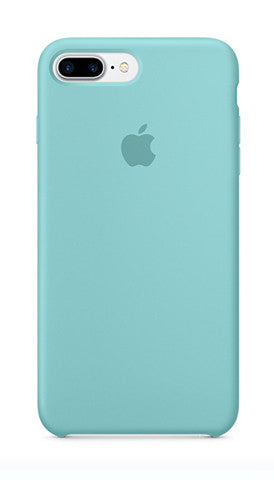 Apple iPhone 7 Plus Silicone Case - Sea Blue (Produkt Zyrtar)