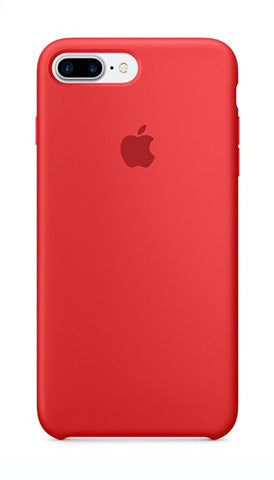 Apple iPhone 7 Plus Silicone Case - Red (Produkt Zyrtar)