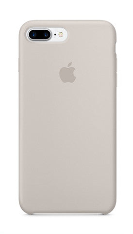 Apple iPhone 7 Plus Silicone Case - Stone Gray (Produkt Zyrtar)